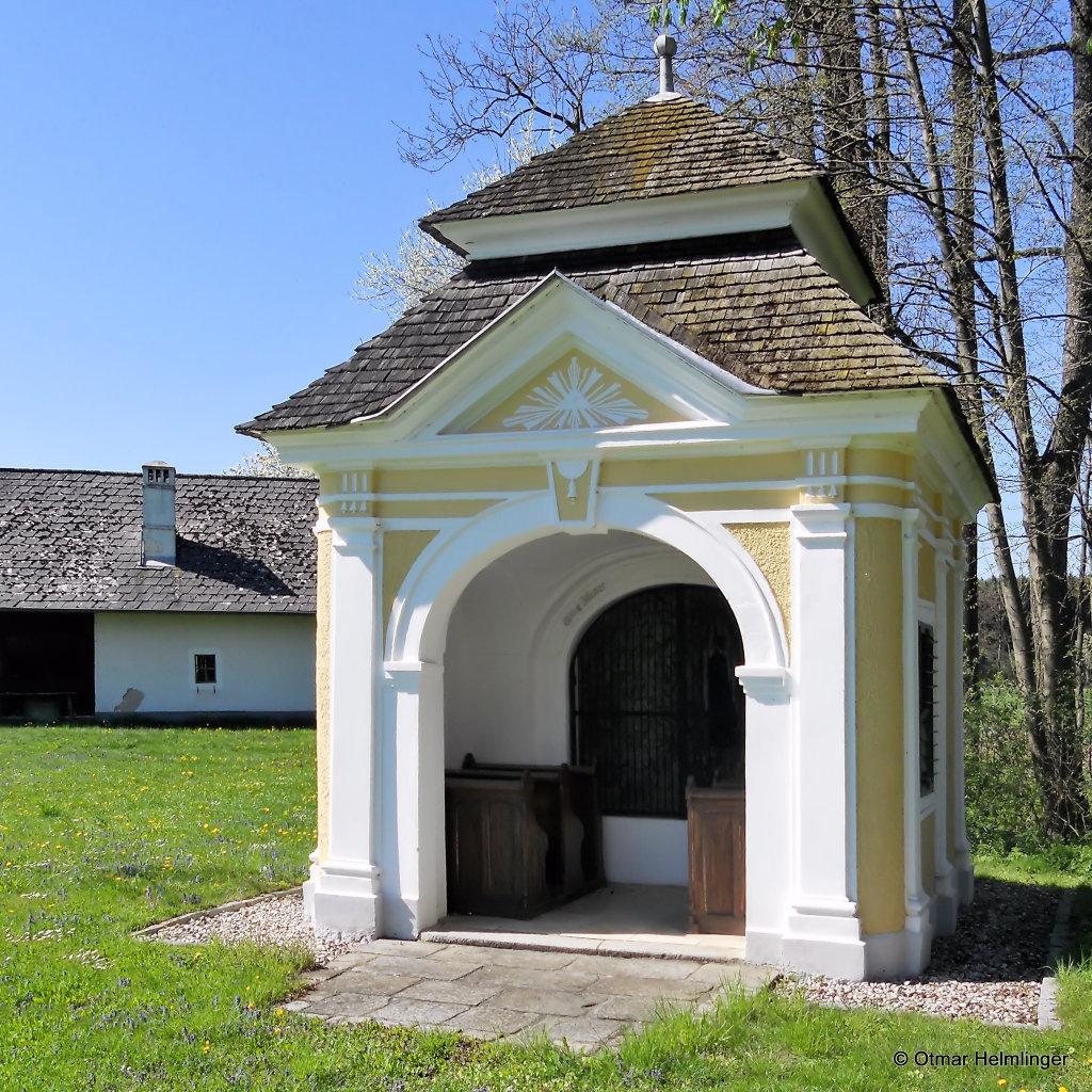 Hauskapelle Gruber z Grub,Niederfraunleiten in St. Florian, Oberösterreich - Niederfraunleiten, Oberösterreich (4490-OOE)