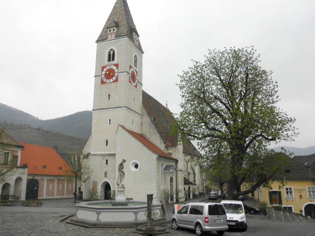Pfarrkirche Spitz an der Donau - Spitz, Niederösterreich (3620-NOE)