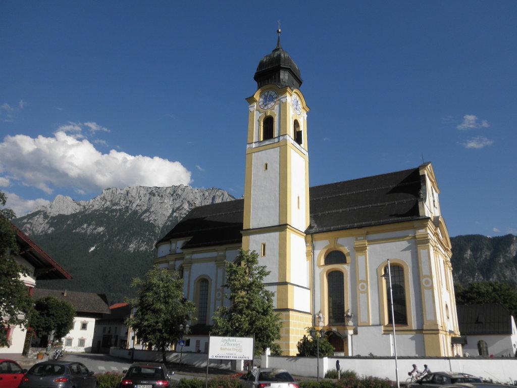 "Pfarrkirche von Ebbs - Maria Himmelfahrt - auch ""Ebbser Dom"" genannt - Ebbs, Tirol (6341-TIR)"
