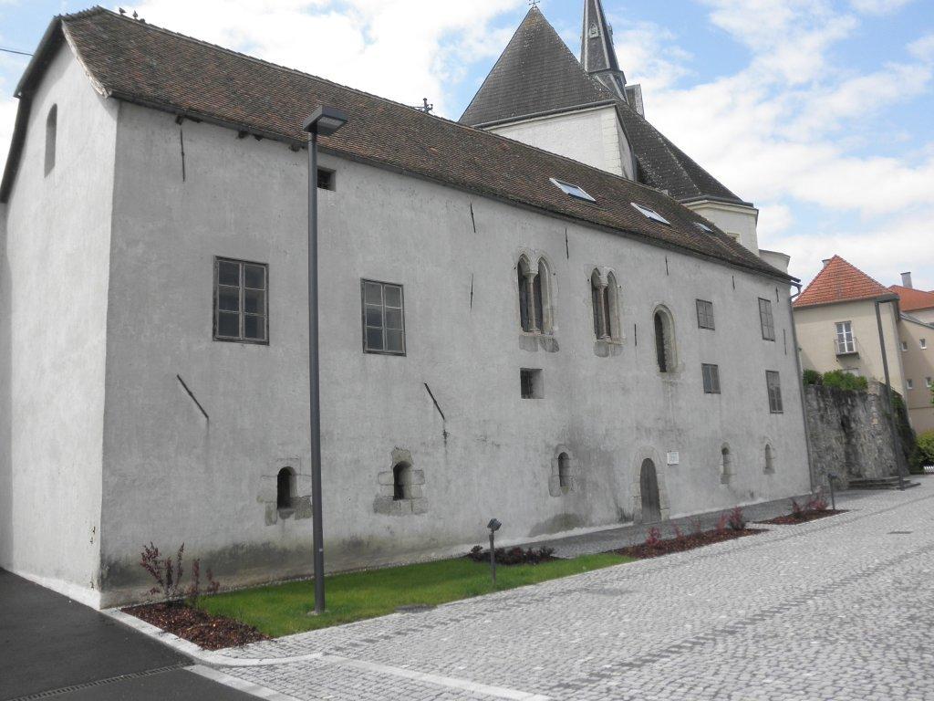 Passauerkasten - Ältestes Bauwerk von Ybbs - Ybbs an der Donau, Niederösterreich (3370-NOE)