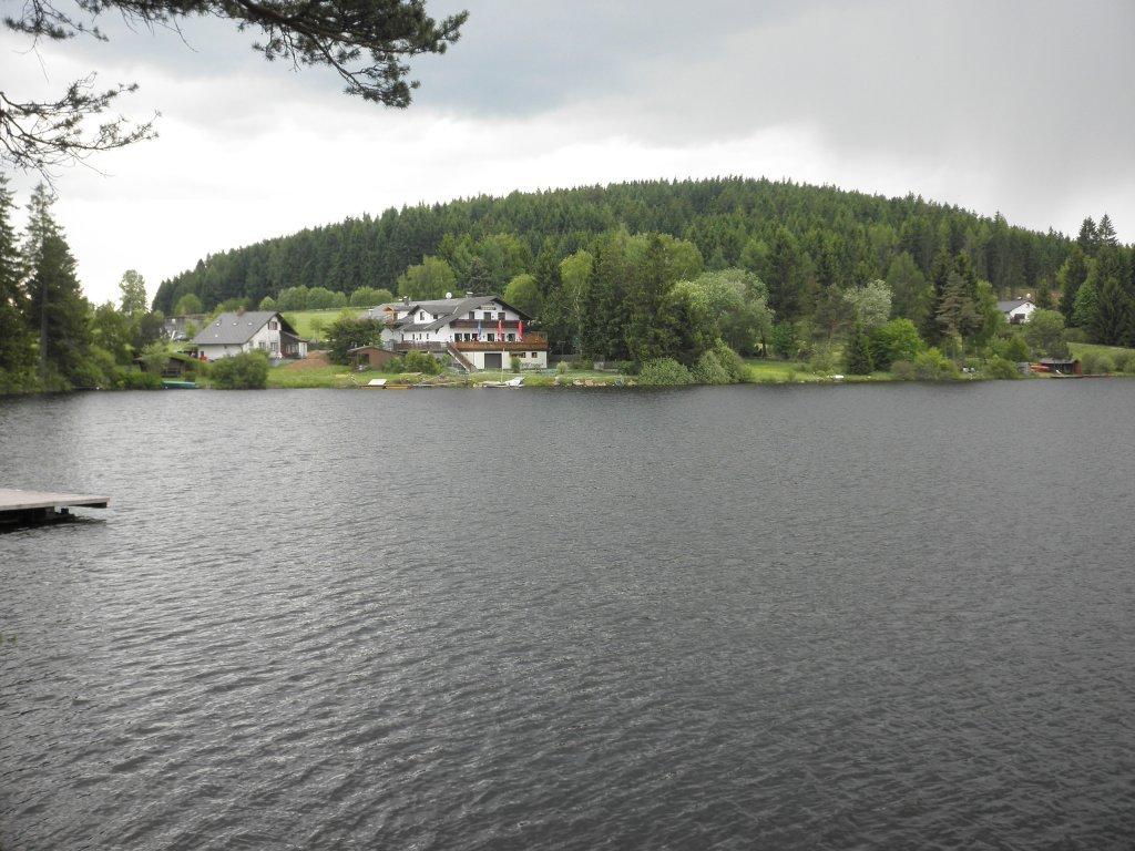Blick über den Edlesberger Teich zum Ghf. Seewolf - Gutenbrunn, Niederösterreich (3665-NOE)