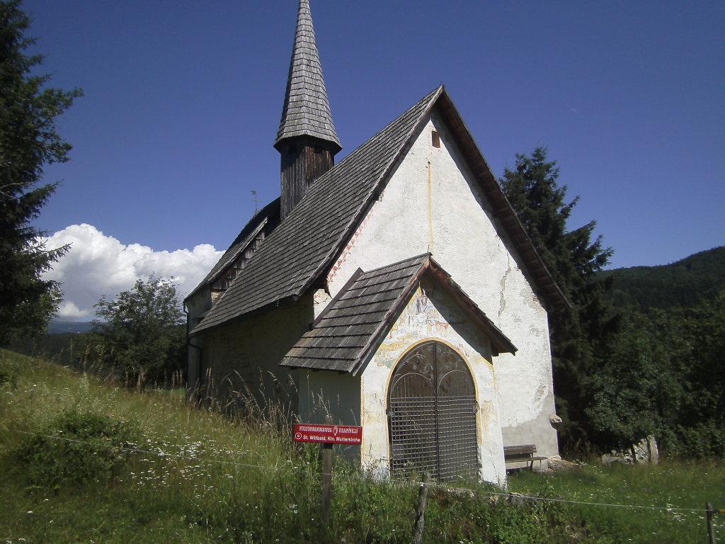 Kirche St. Willibald im Juni 2012 - St. Willibald, Kärnten (9321-KTN)
