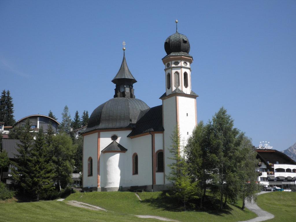 Das Seekirchl Heilig Kreuz in Seefeld - Seefeld in Tirol (6100-TIR)