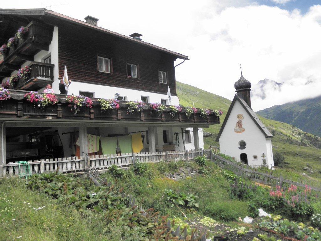 Kapelle in Rofen - Nähe Vent - Vent, Tirol (6458-TIR)