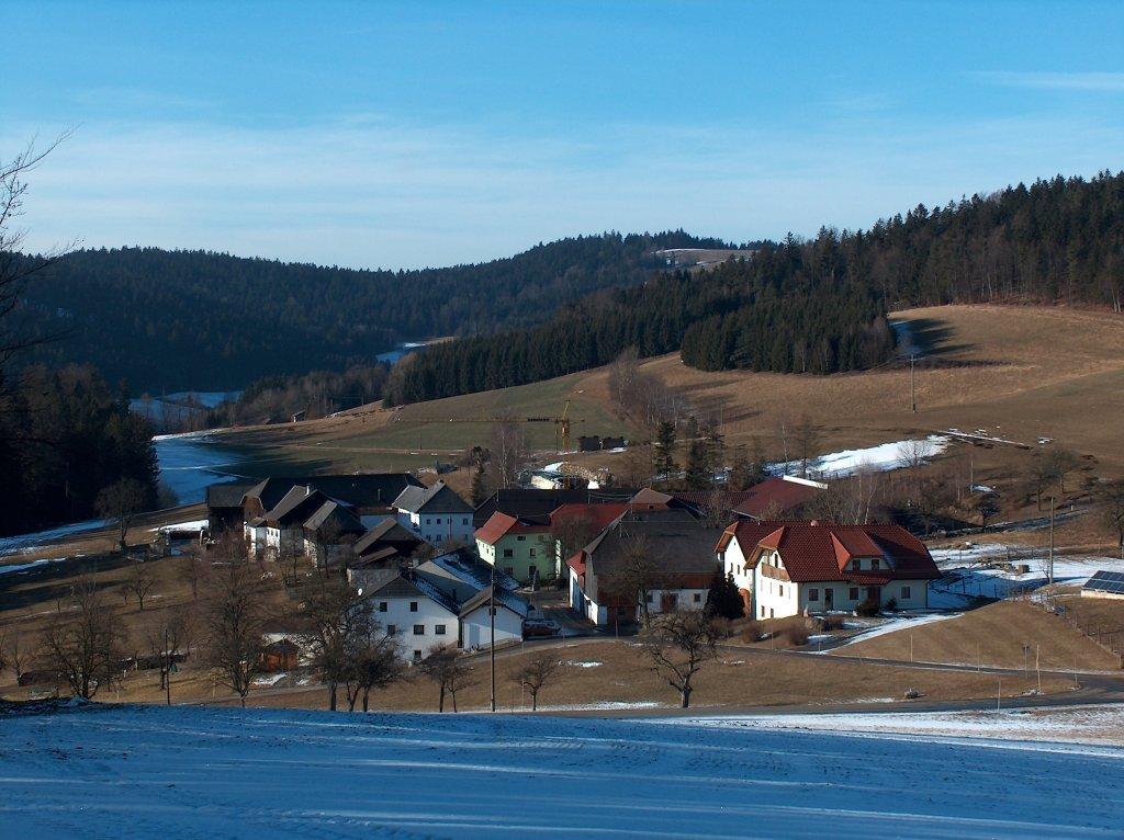 Schwand im Winter 2009 - Schwand, Oberösterreich (4152-OOE)