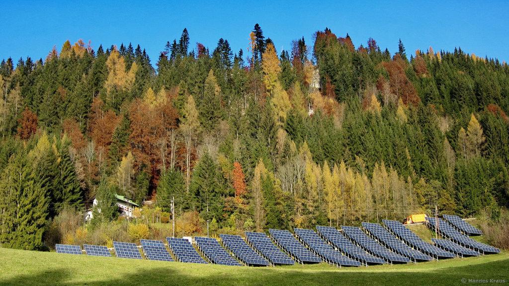 Eulersberg - Solaranlage d.Salzb.AG für Werfenweng - Eulersberg, Salzburg (5453-SBG)