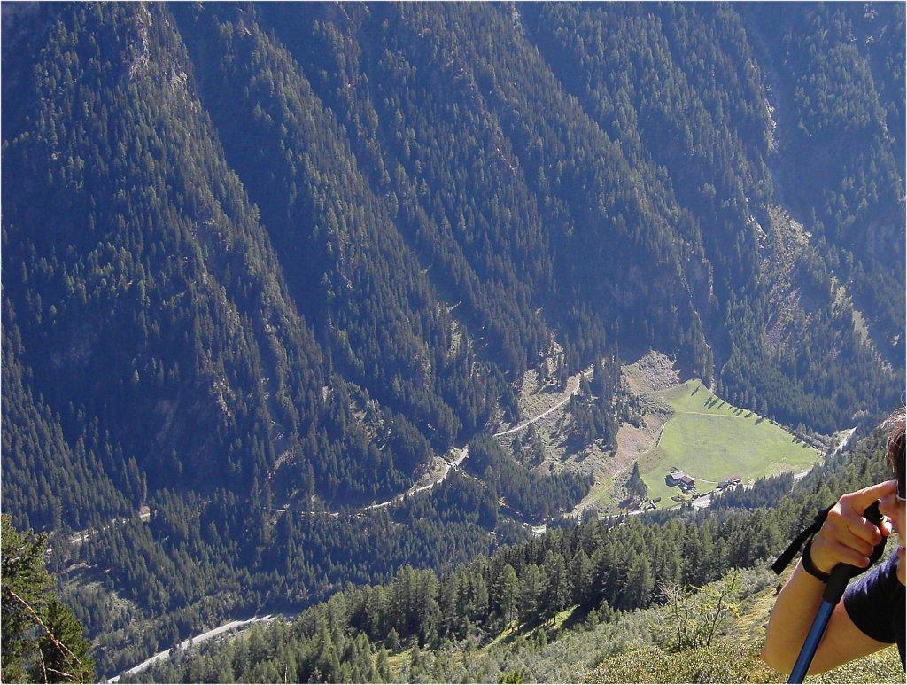 Blick von der Kuppalpe auf Wolfskehr. - Wolfskehr, Tirol (6524-TIR)