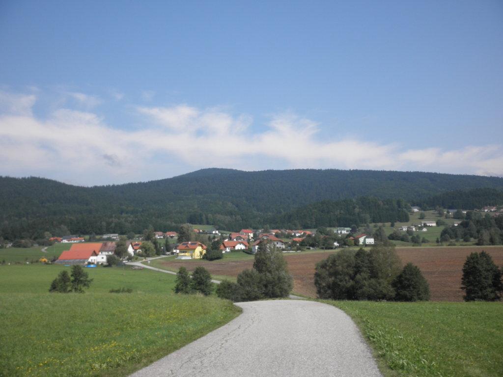 Blick nach Panidorf - Panidorf, Oberösterreich (4163-OOE)