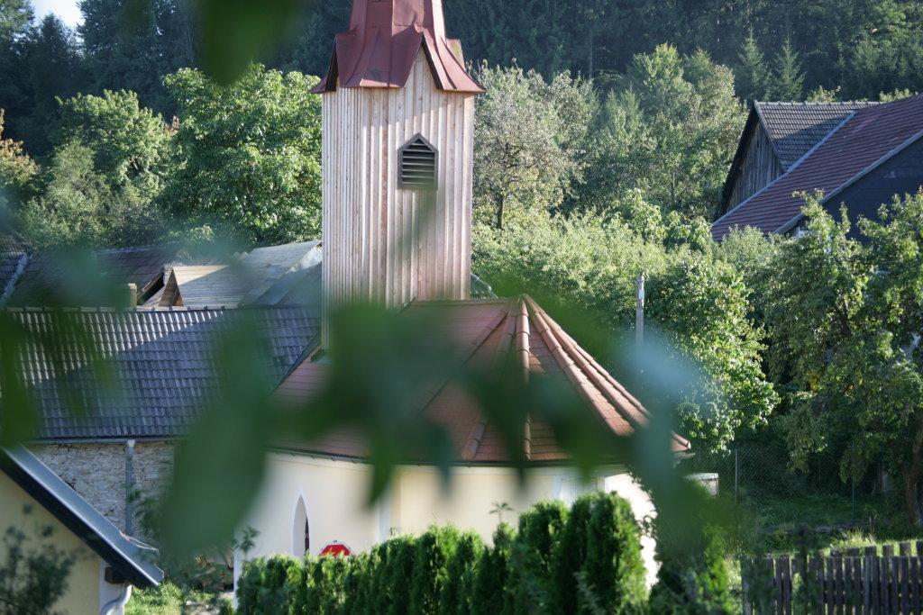 Kapelle von oben - Kienberg, Niederösterreich (3594-NOE)