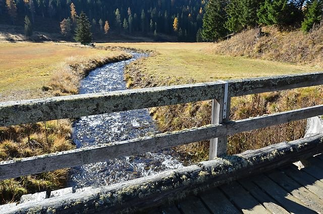 Brücke über den Gurk-Fluss an der Messanegger Alm - Hochrindl - Kegel, Kärnten (9571-KTN)