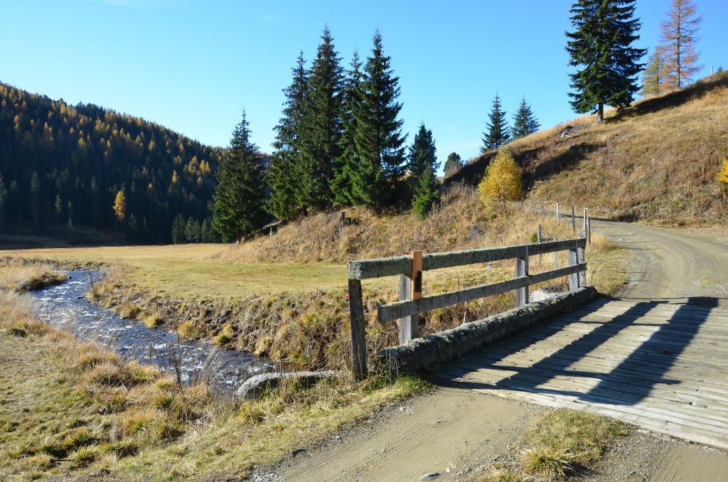 Gurk-Brücke an der Messanegger Alm - Hochrindl - Kegel, Kärnten (9571-KTN)