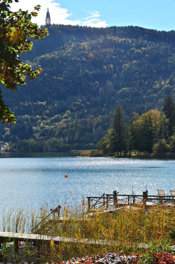 Johannaweg mit Wörthersee-Ostbucht und Pyramidenkogel. - Johannaweg, Kärnten (9210-KTN)