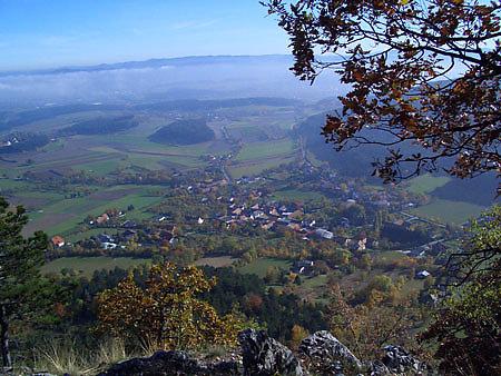 Blick von Flatzer Wand auf Flatz - Flatz, Niederösterreich (2620-NOE)
