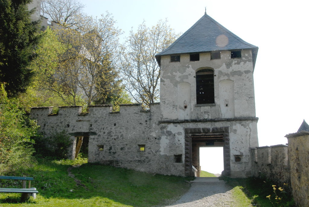 Landschaftstor (8.) der Burganlage Hochosterwitz - Hochosterwitz, Kärnten (9314-KTN)