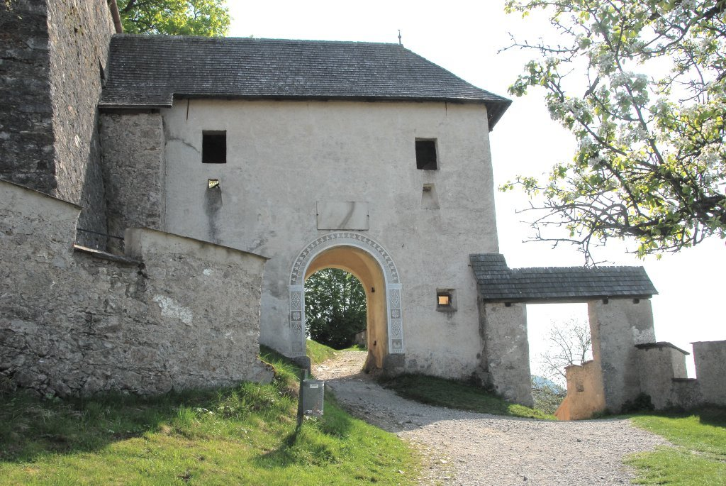 Kirchentor (13.) der Burganlage Hochosterwitz - Hochosterwitz, Kärnten (9314-KTN)