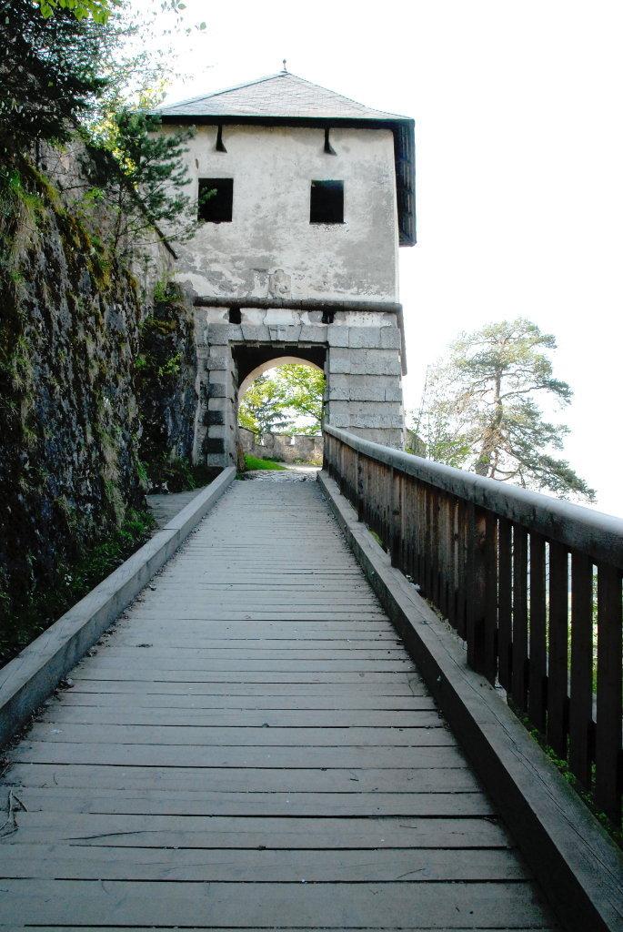 Löwentor (5.) der Burganlage Hochosterwitz - Hochosterwitz, Kärnten (9314-KTN)