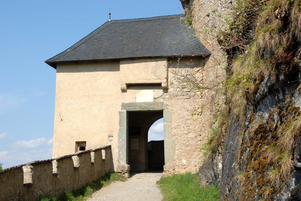 Mauertor (11.) der Burganlage Hochosterwitz - Hochosterwitz, Kärnten (9314-KTN)