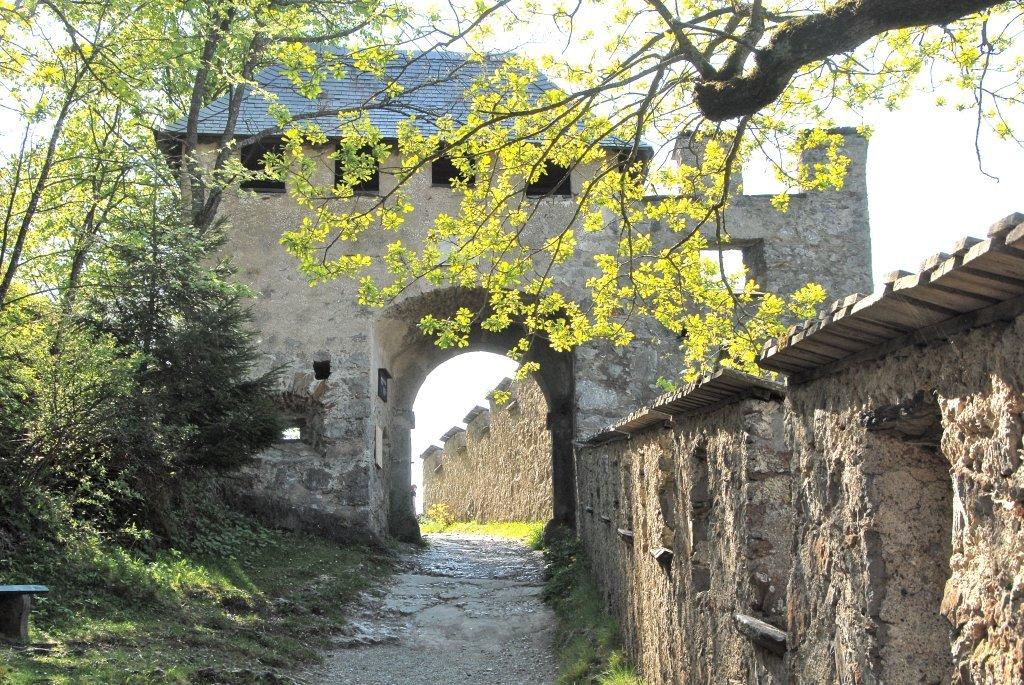 Manntor (6.) der Burganlage Hochosterwitz - Hochosterwitz, Kärnten (9314-KTN)