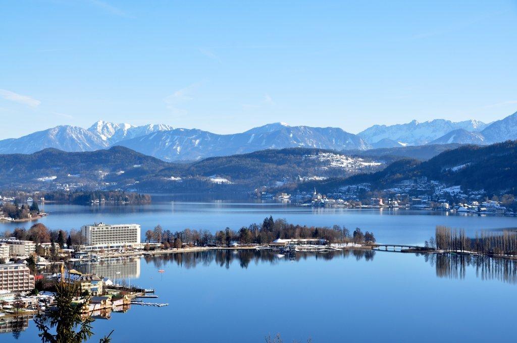 Blick von der Hohen Gloriette - Pörtschach am Wörther See, Kärnten (9210-KTN)