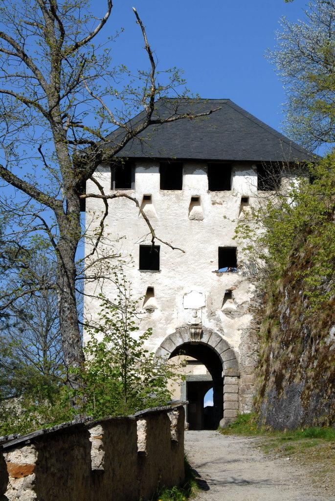 Waffentor (10.) der Burganlage Hochosterwitz - Hochosterwitz, Kärnten (9314-KTN)