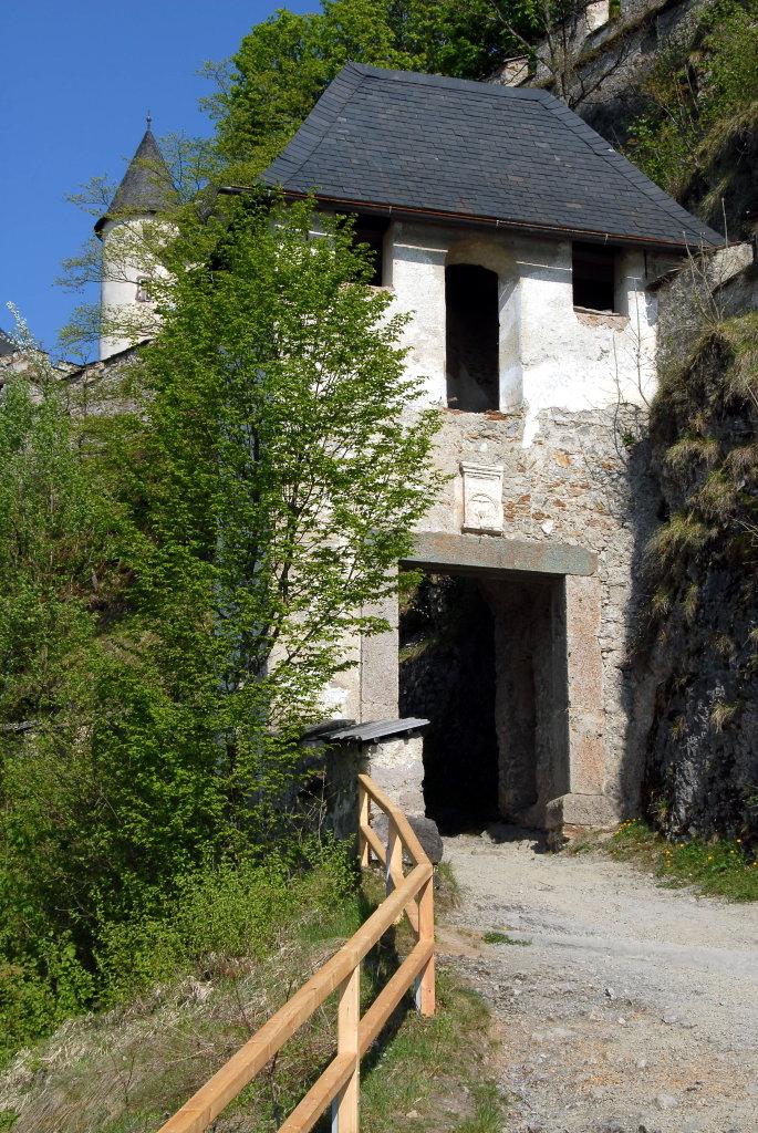 Reisertor (9.) der Burganlage Hochosterwitz - Hochosterwitz, Kärnten (9314-KTN)