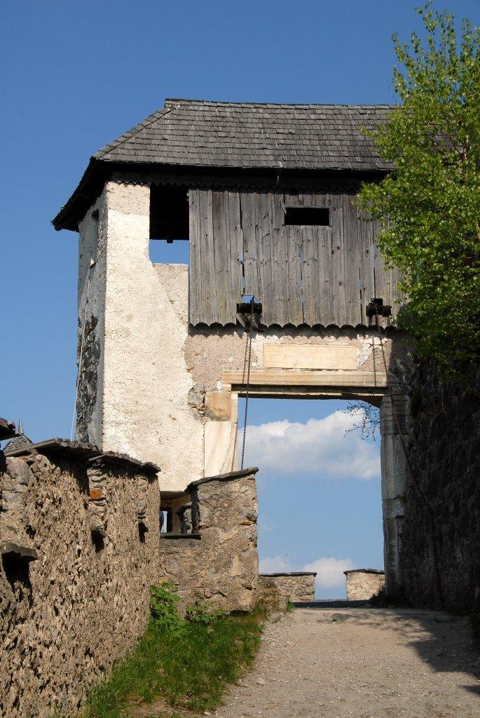 Brückentor (12.) der Burganlage Hochosterwitz - Hochosterwitz, Kärnten (9314-KTN)
