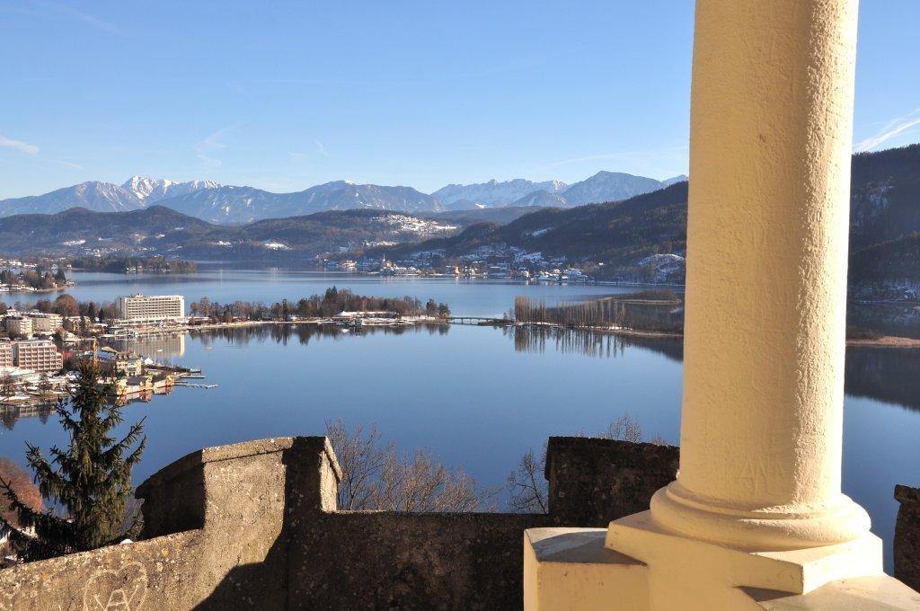 Blick von der Hohen Gloriette auf Pörtschach am Wörthersee - Pörtschach am Wörther See, Kärnten (9210-KTN)