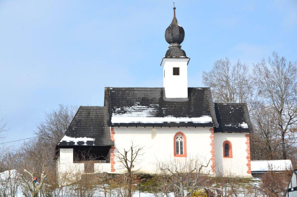 Filialkirche hll. Ulrich und Martin in Albersdorf, Süd-Ansicht - Albersdorf, Kärnten (9535-KTN)
