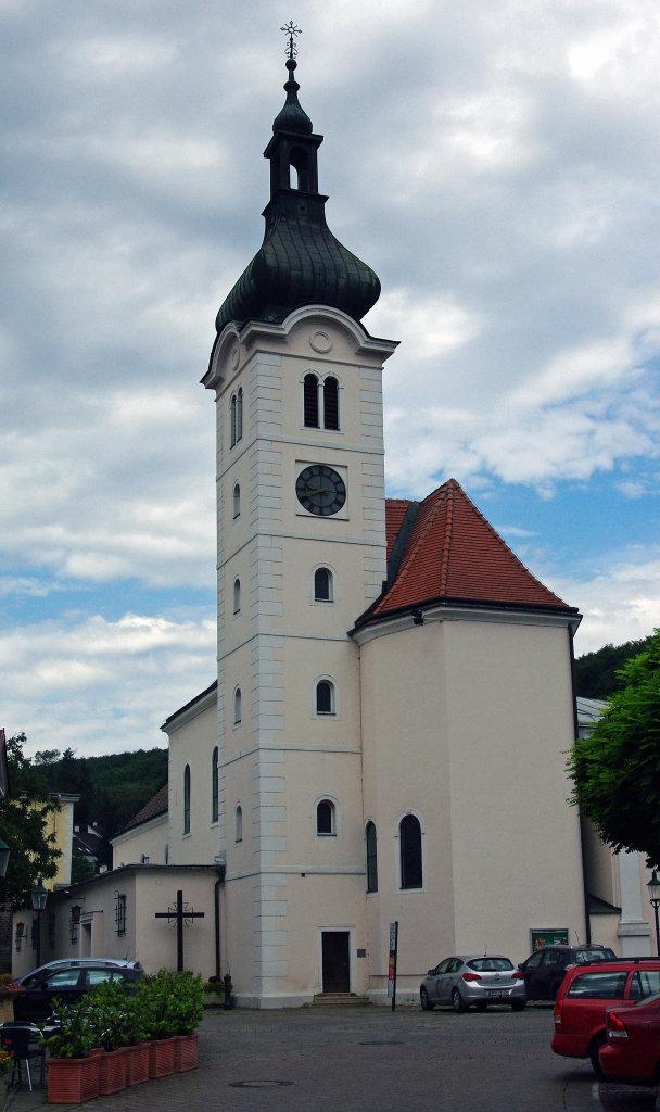 Purkersdorf, Pfarrkirche St. Jakob, mittelalterlichen Ursprungs! - Purkersdorf, Niederösterreich (3002-NOE)