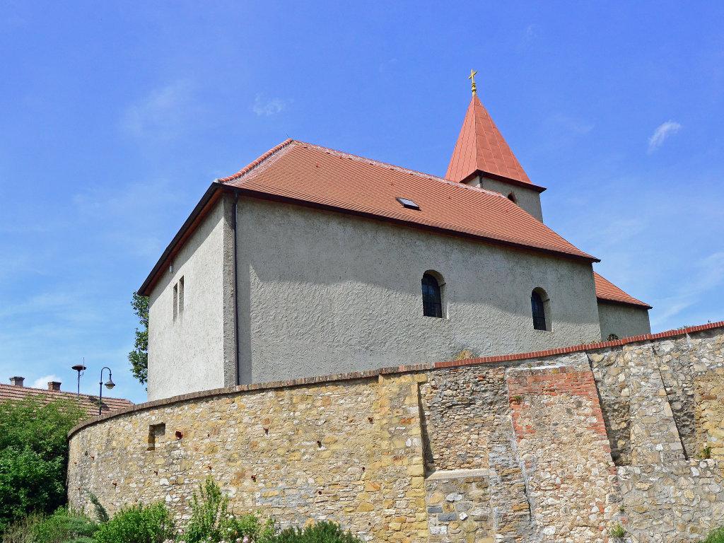 Kath. Pfarrkirche hl. Ägidius mit Umfassungsmauer, Chorherrn - Chorherrn, Niederösterreich (3430-NOE)