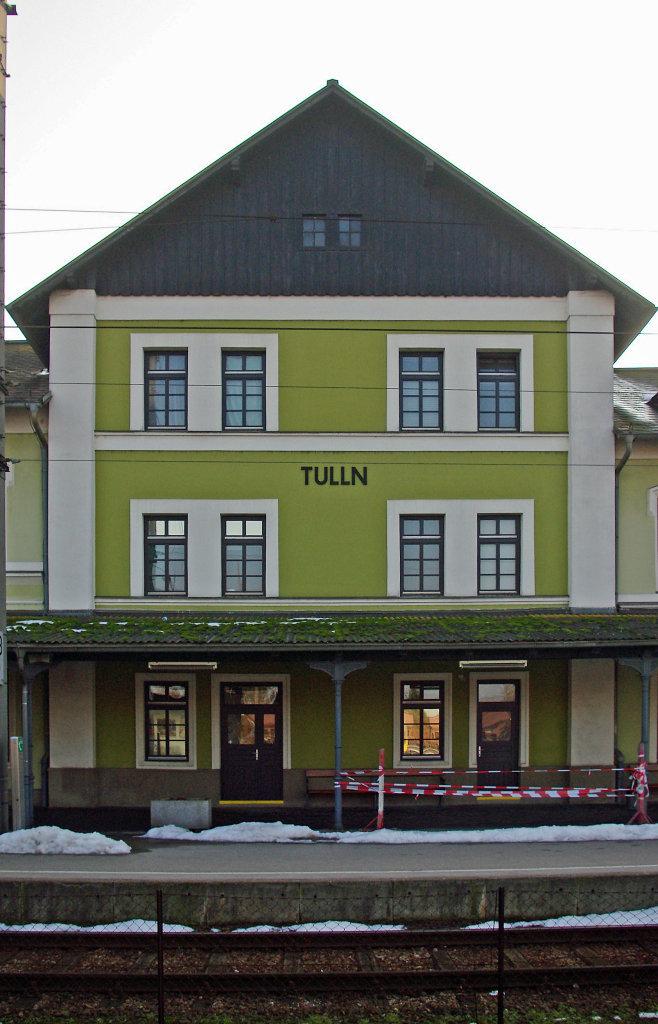 Tulln Bahnhof, Geburtshaus Egon Schiele - Tulln an der Donau, Niederösterreich (3425-NOE)