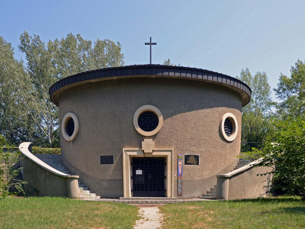 Friedhof der Namenlosen, Kapelle - Friedhof der Namenlosen, Wien (1110-W)