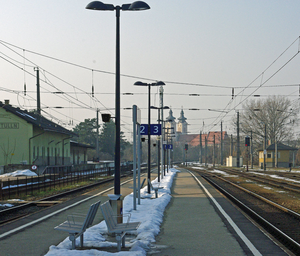 Tulln, Bahnhof - Tulln an der Donau, Niederösterreich (3425-NOE)