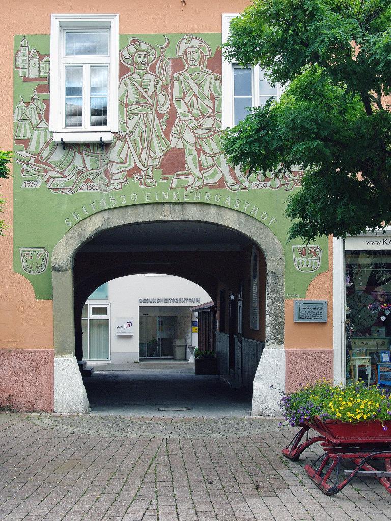 Purkersdorf, Gasthof zum goldenen Adler - Purkersdorf, Niederösterreich (3002-NOE)