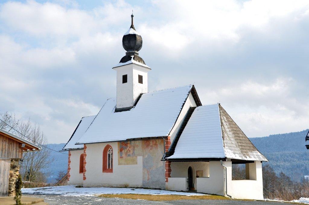 Filialkirche heilige Ulrich und Martin in Albersdorf, Nordwest-Ansicht - Albersdorf, Kärnten (9535-KTN)