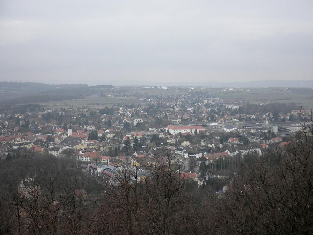 Der schöne Blick von der Hamerlingwarte auf Gars am Kamp - Gars am Kamp, Niederösterreich (3571-NOE)