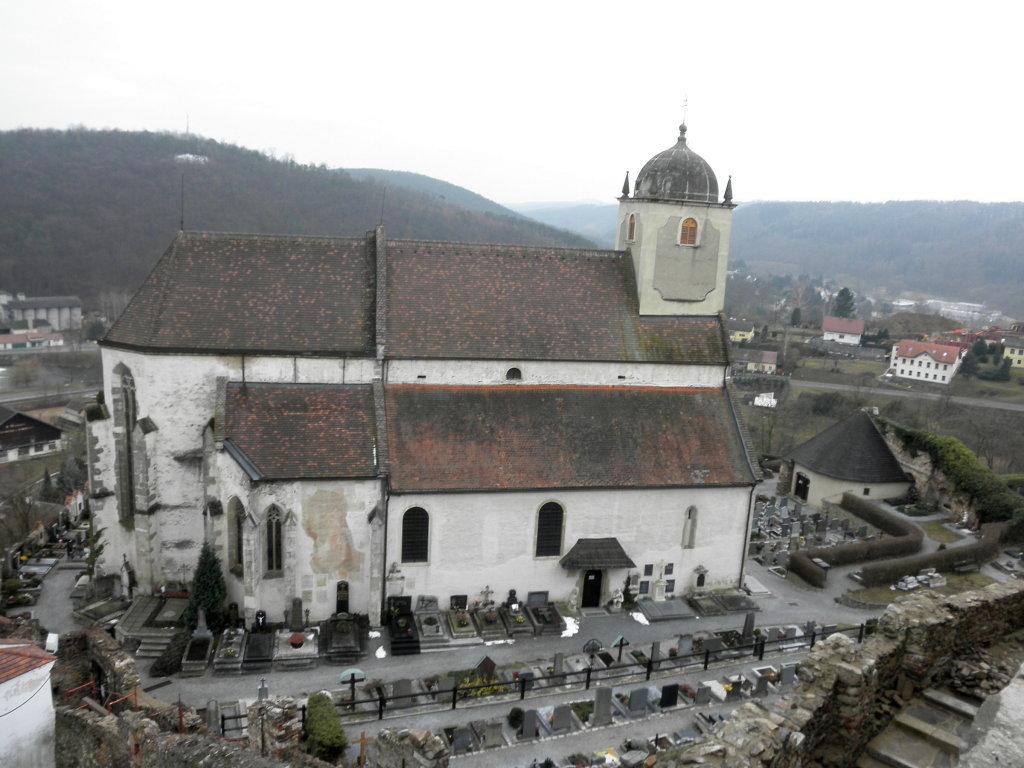Kath. Pfarrkirche hl. Gertrud - Gars am Kamp, Niederösterreich (3571-NOE)