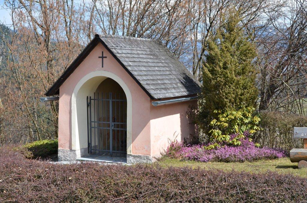 Weg-Kapelle Heiliger Georg - Tiffen, Kärnten (9560-KTN)
