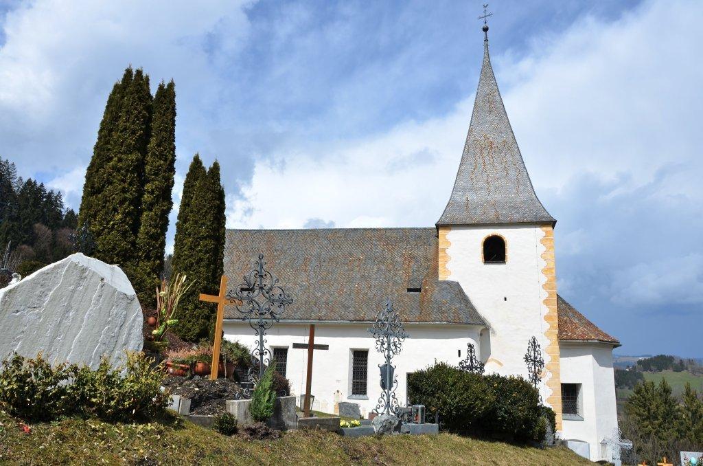 Pfarrkirche hl. Jakobus d. Ä. mit Friedhof - Tiffen, Kärnten (9560-KTN)
