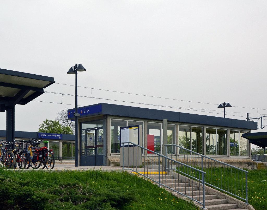 Bahnhof Muckendorf-Wipfling - Muckendorf an der Donau, Niederösterreich (3424-NOE)