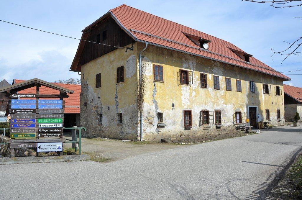 Vulgo Weinwirt, Sitz des Amtmannes der Grundherrschaft Tiffen - Tiffen, Kärnten (9560-KTN)