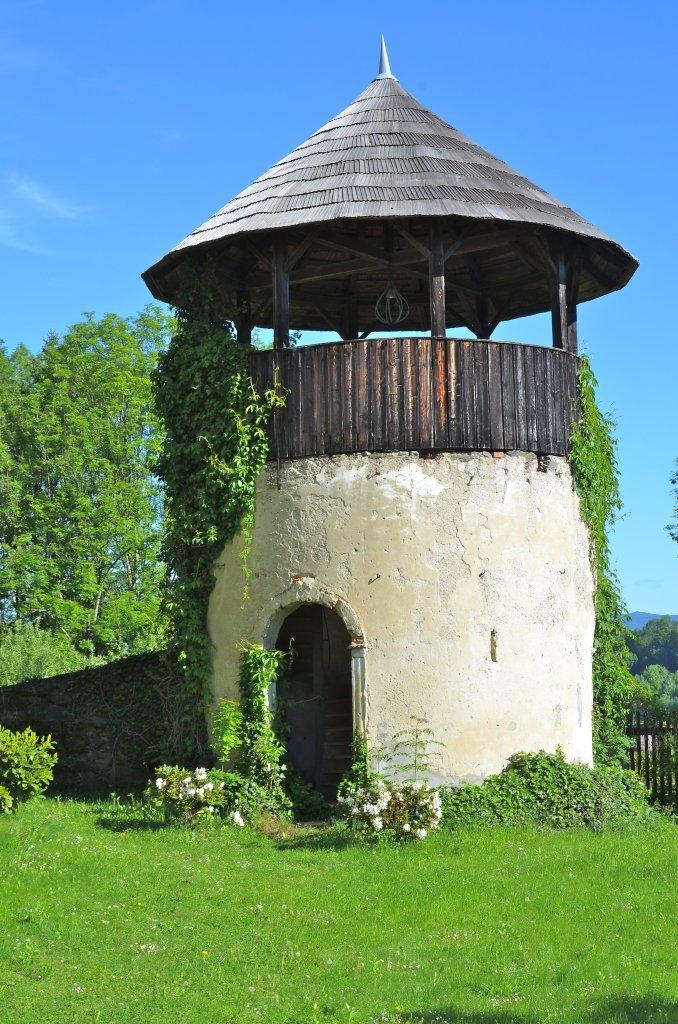 Rundturm am Schloss Moosburg - Moosburg, Kärnten (9062-KTN)