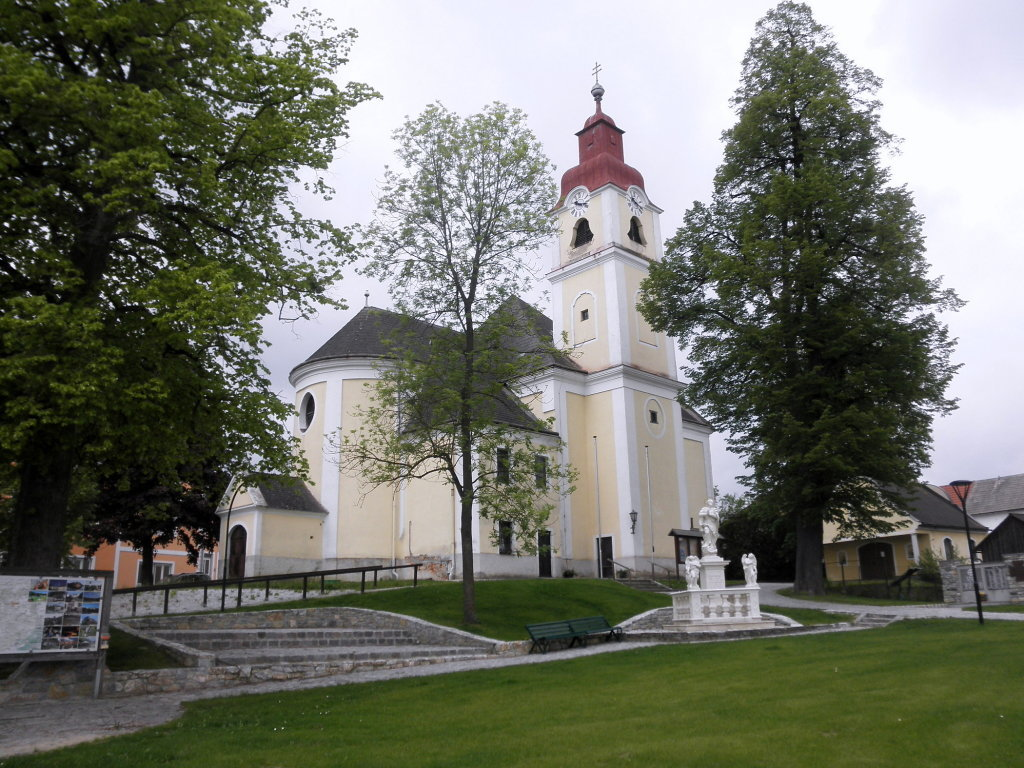 Pfarrkirche Lichtenau - Lichtenau, Niederösterreich (3522-NOE)