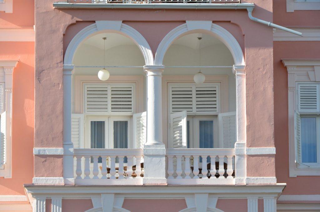 Doppelfenster vom Hotel Astoria - Pörtschach am Wörther See, Kärnten (9210-KTN)