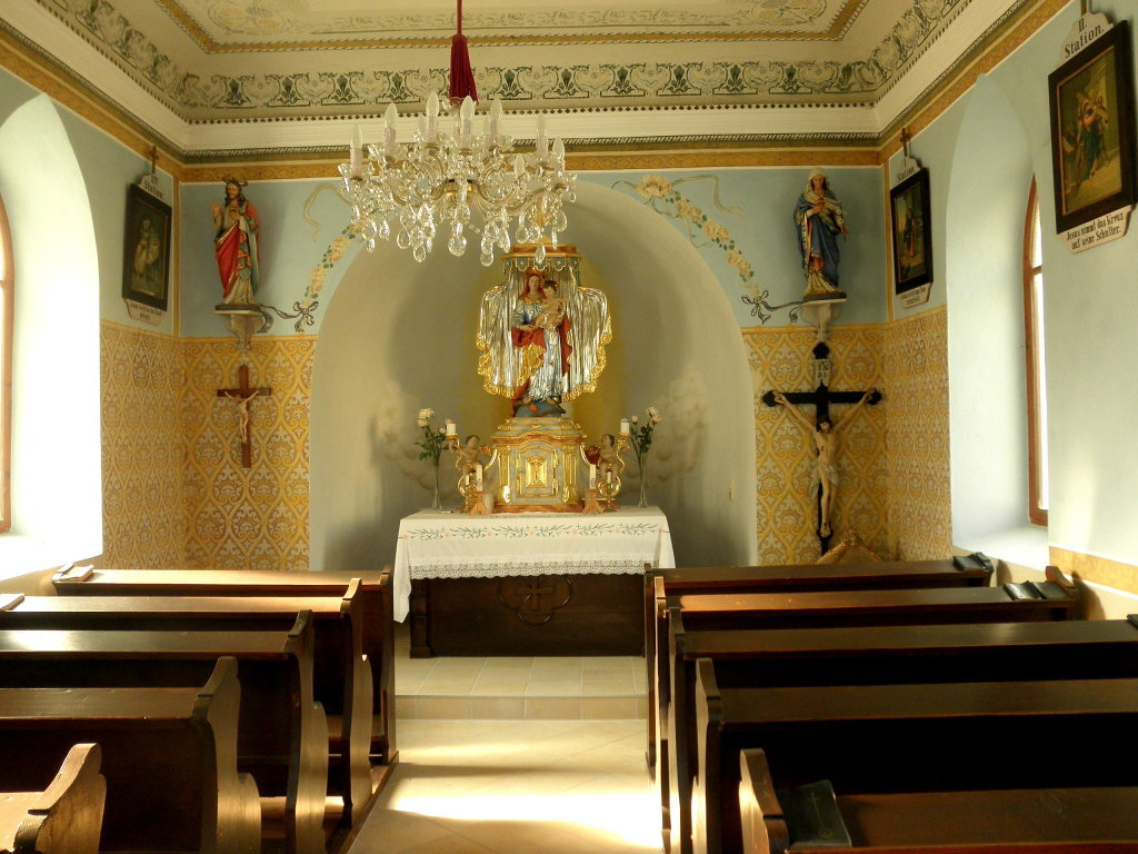 Innenraum der Jubiläumskapelle in Habruck - Habruck, Niederösterreich (3611-NOE)
