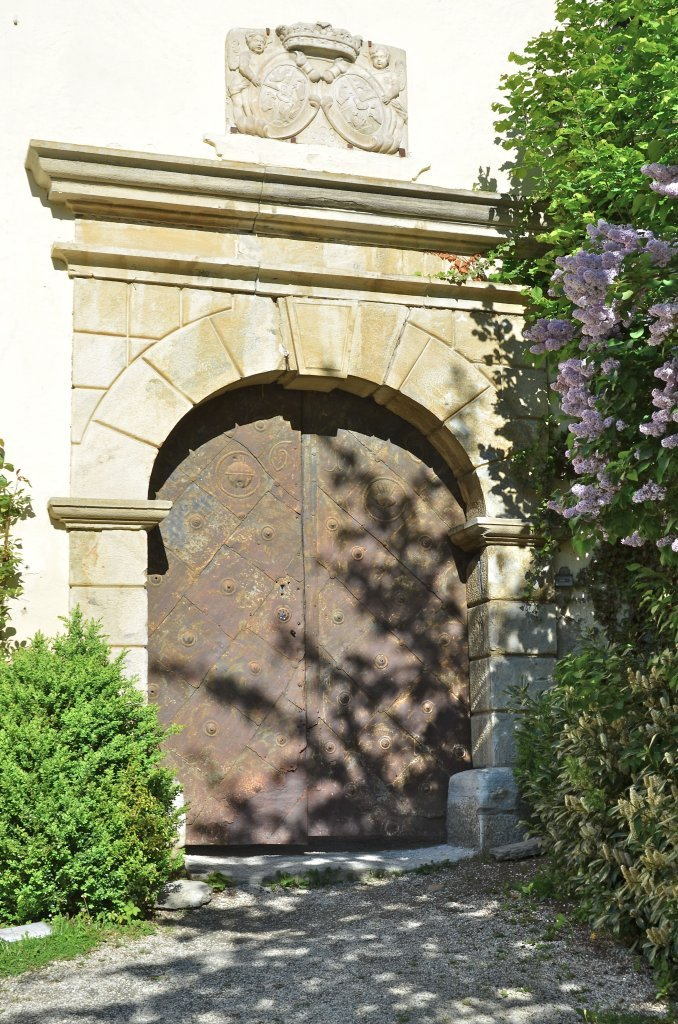 Quaderportal vom Schloss - Moosburg, Kärnten (9062-KTN)