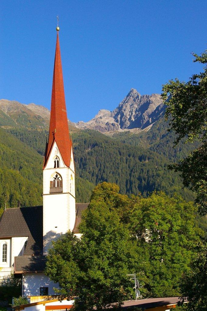 Kirche Oetz - Oetz, Tirol (6433-TIR)
