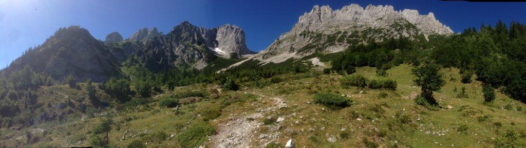 Ellmauer Tor von Gaudeamushütte - Ellmau, Tirol (6352-TIR)