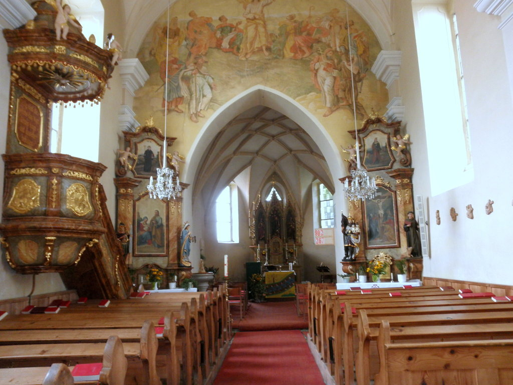Pfarrkirche Altmelon - Innenansicht - Altmelon, Niederösterreich (3925-NOE)