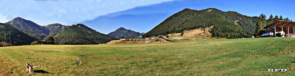 "Panorama Kreuzen ""Auf der Eben"" August 2013 - Kreuzen, Kärnten (9711-KTN)"
